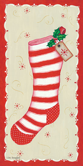 Lisa Kennedy KEN1009 - Vintage Stocking Holidays, Christmas, Stocking, Vintage from Penny Lane