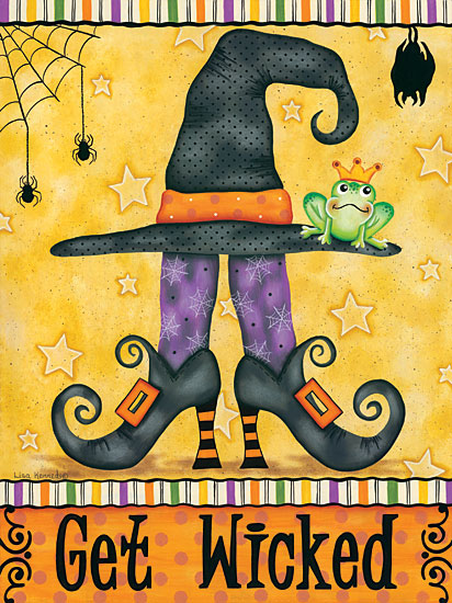 Lisa Kennedy KEN1020 - Get Wicked Get Wicked, Witch, Witch's Legs, Shoes, Frog from Penny Lane