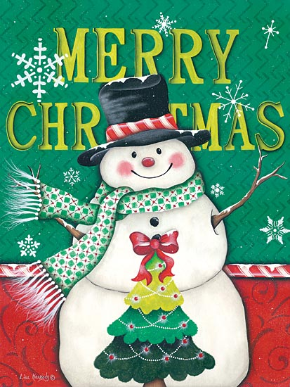 Lisa Kennedy KEN946 - Merry Christmas - Snowman, Christmas Trees, Holiday, Signs from Penny Lane Publishing