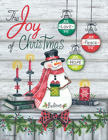 Lisa Kennedy KEN985 - Joy of Christmas Joy of Christmas, Snowman, Ornaments from Penny Lane