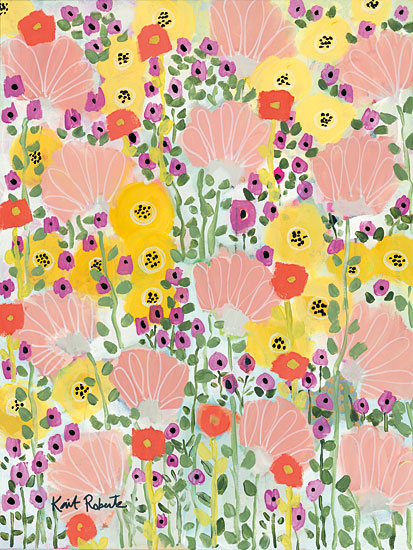 Kait Roberts KR147 - Don't Apologize for Your Wild Wildflowers, Flowers, Abstract from Penny Lane