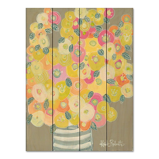 Kait Roberts KR151PAL - Pleasant Poppies Abstract, Vase, Flowers, Poppies from Penny Lane