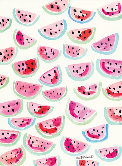 Kait Roberts KR164 - Be Sweet Abstract, Watermelon from Penny Lane