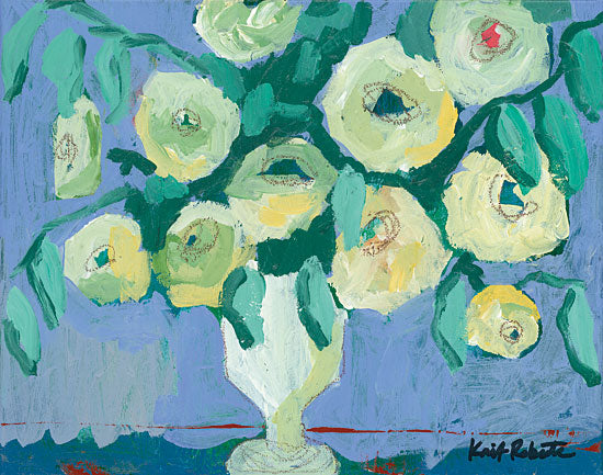 Kait Roberts KR242 - The Royal Poppies Poppies, White, Vase, Bouquet, Blooms, Flowers from Penny Lane