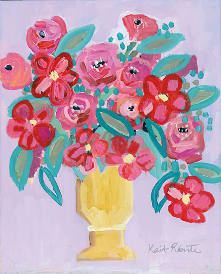 Kait Roberts KR245 - That Sounds Sweet Abstract, Flowers, Blooms, Bouquet, Vase, Botanical from Penny Lane