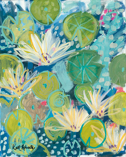 Kait Roberts KR251 - Deeper Understanding Flowers, Blooms, Botanical, Abstract from Penny Lane