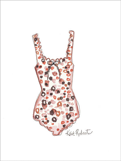 Kait Roberts KR274 - Wanton Color - 12x16 Bathing Suit, Swimming, Fashion from Penny Lane