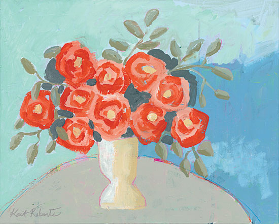 Kait Roberts KR326 - Entryway Bouquet - 16x12 Abstract, Flowers, Vase from Penny Lane