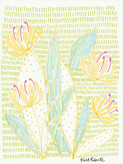 Kait Roberts KR383 - Honey Bunches - 12x16 Abstract, Flowers, Blooms, Wildflowers, Patterns from Penny Lane