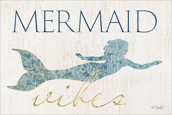 Kate Sherrill KS101 - Mermaid Wishes - 18x12 Mermaid, Wishes, Whimsical, Fantasy from Penny Lane