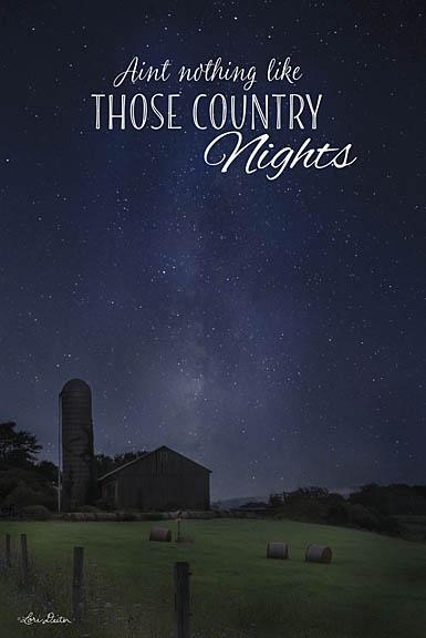 Lori Deiter LD1105 - Country Nights - Farm, Barn, Night, Country from Penny Lane Publishing