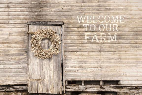 Lori Deiter LD1193 - Welcome to Our Farm - Welcome, Farm, Neutral, Wreath, Door from Penny Lane Publishing