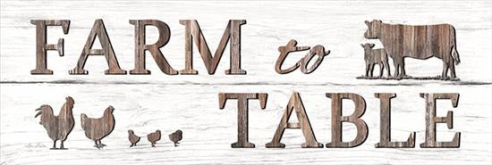 Lori Deiter LD1210 - Farm to Table - Farm to Table, Cow, Rooster, Rust from Penny Lane Publishing