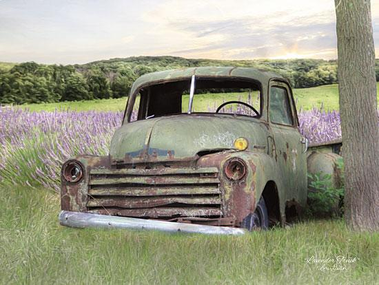 Lori Deiter LD1234 - Lavender Truck - Lavender, Truck, Field, Antiques from Penny Lane Publishing