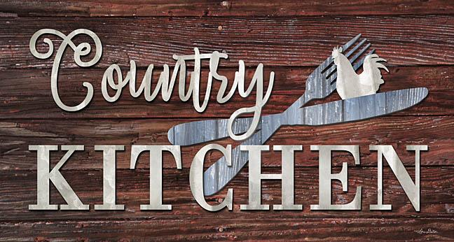 Lori Deiter LD1244 - Country Kitchen - Country, Kitchen, Utensils, Rooster, Wood from Penny Lane Publishing