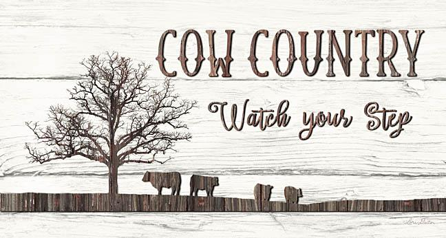 Lori Deiter LD1246 - Cow Country - Cow, Country, Tree, Wood from Penny Lane Publishing