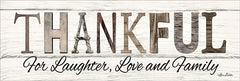 LD1252 - Thankful for Laughter, Love and Family - 24x8