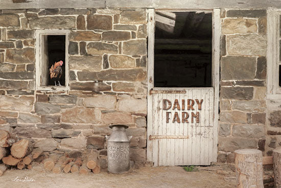 Lori Deiter LD2161 - Dairy Farm - Dairy Farm, Rooster, Milk Can, Farm, Barn, Antiques from Penny Lane Publishing