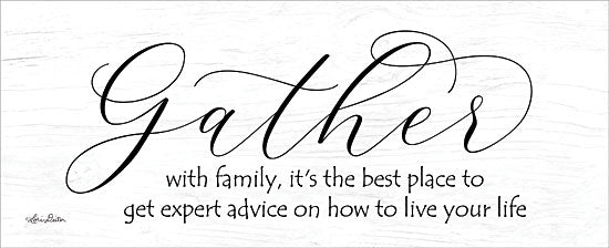 Lori Deiter LD1297 - Expert Advice Gather, Calligraphy, Family, Inspiring, Signs from Penny Lane