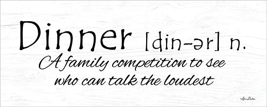 Lori Deiter LD1307 - Dinner Competition Dinner, Kitchen, Humor, Calligraphy, Signs from Penny Lane