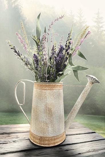 Lori Deiter LD1327 - Lavender Watering Can Watering Can, Flowers, Lavender from Penny Lane