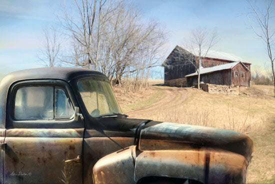 Lori Deiter LD1342 - Hebe Hillside Rusty Truck, Farm, Barn, Rustic from Penny Lane
