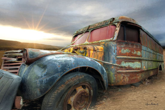 Lori Deiter LD1343 - Catch a Ride Truck, Rusty Truck, Rustic, Antiques from Penny Lane