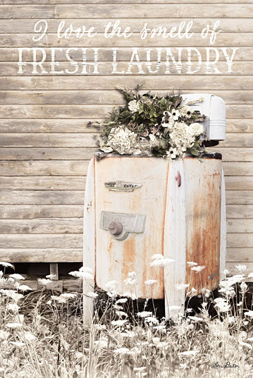 Lori Deiter LD1351 - Fresh Laundry Laundry Room, Laundry, Antique, Washing Machine from Penny Lane