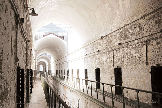 Lori Deiter LD1452 - Eastern State Penitentiary I  Eastern State Penitentiary, Jail, Philadelphia, Pennsylvania from Penny Lane