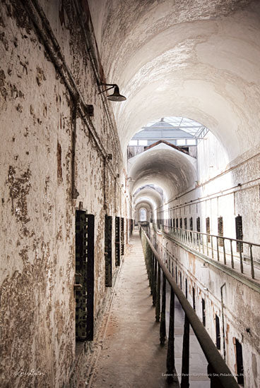 Lori Deiter LD1455 - Eastern State Penitentiary IV Eastern State Penitentiary, Jail, Philadelphia, Pennsylvania from Penny Lane
