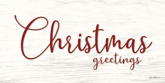 Lori Deiter LD1481 - Christmas Greetings Christmas Greetings, Calligraphy, Holidays, Signs from Penny Lane