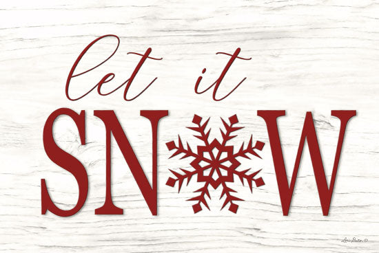 Lori Deiter LD1482 - Let It Snow Let It Snow, Snowflake, Calligraphy, Holidays, Winter, Signs from Penny Lane