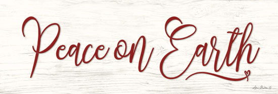 Lori Deiter LD1484 - Peace on Earth Peace on Earth, Calligraphy, Holidays, Signs from Penny Lane