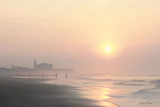 Lori Deiter LD1640 - LD1640 - Ocean City Sunrise    - 18x12 Sunrise, Ocean City, Photography, Beach, Coastal from Penny Lane