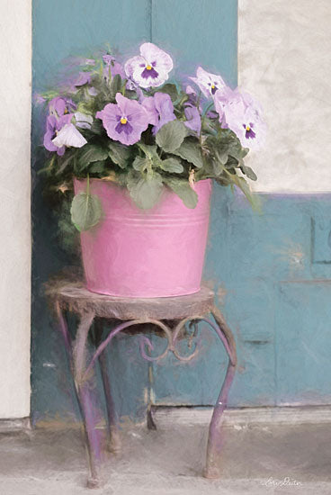 Lori Deiter LD1804 - LD1804 - Pansy Bucket - 12x18 Floral, Photography, Pansy, Potted Flowers from Penny Lane