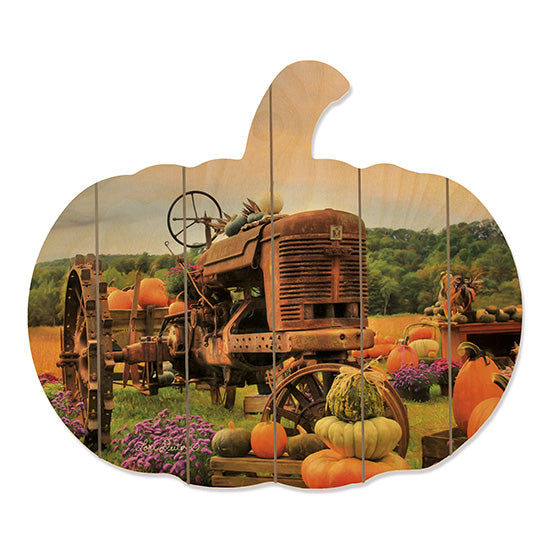 Lori Deiter LD807PUMP - The Harvester Tractor, Farm, Fruit Stand, Pumpkins, Flowers, Rusty, Gourds from Penny Lane