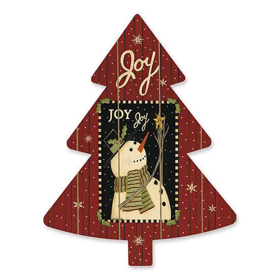 Linda Spivey LS1724TREE - Joy Joy Joy  Holidays, Snowman, Joy, Snowflakes, Christmas Tree from Penny Lane