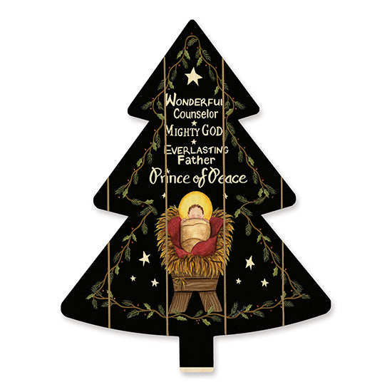 Linda Spivey LS1730TREE - Prince of Peace   Holidays, Prince of Peace, Baby Jesus, Greenery, Stars, Christmas Trees from Penny Lane