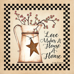 LS1764 - Love Makes a House a Home - 12x12
