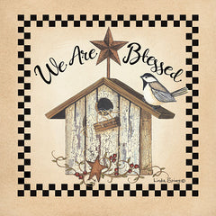 LS1766 - We Are Blessed Birdhouse - 12x12