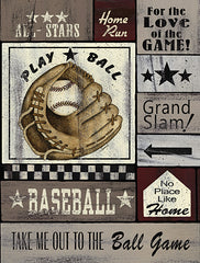 LS1771 - Baseball All Stars - 12x16