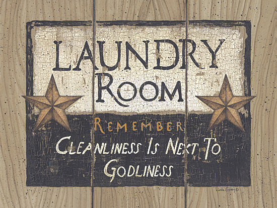 Linda Spivey LS871 - Laundry Room - Laundry Room, Sign, Barn Stars from Penny Lane Publishing