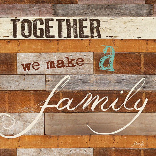Marla Rae MA1000GP - Together - Together, Family, Signs, Inspirational from Penny Lane Publishing