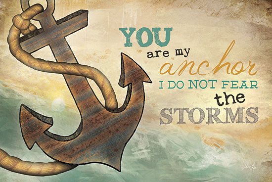 Marla Rae MA1006GP - You are My Anchor - Anchor, Beach, Coast from Penny Lane Publishing