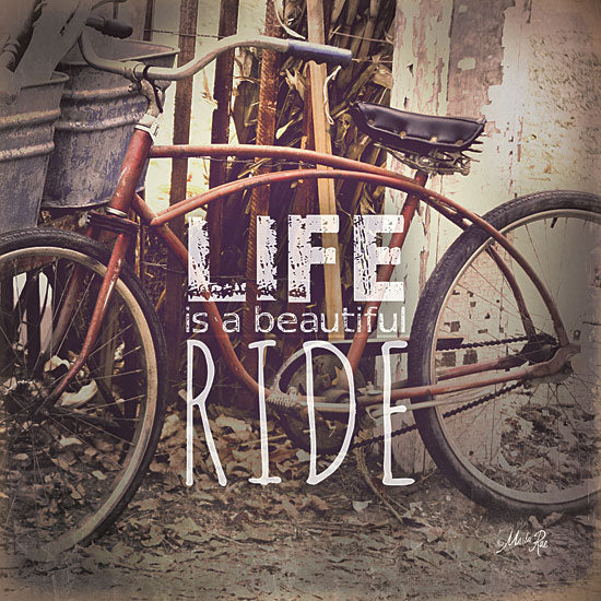 Marla Rae MA1048 - Life is a Beautiful Ride  - Bicycle, Signs, Inspirational from Penny Lane Publishing