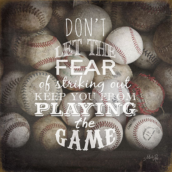 Marla Rae MA1049GP - Playing the Game - Baseball, Game, Signs from Penny Lane Publishing