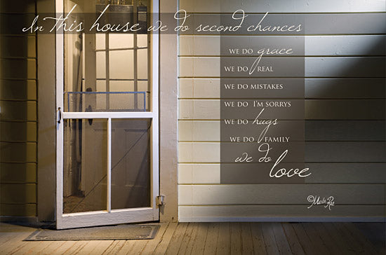 Marla Rae MA105 - Second Chances - We Do Second Chances, Front Porch, Door from Penny Lane Publishing