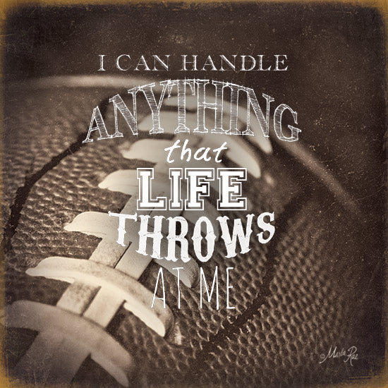 Marla Rae MA1068 - I Can Handle Anything... - Football, Motivating, Signs from Penny Lane Publishing