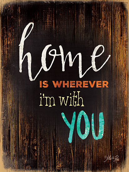 Marla Rae MA1164GP - Home Is... - Home, Inspiring, Signs from Penny Lane Publishing