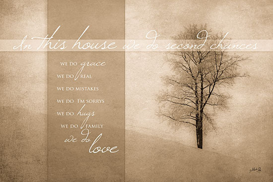Marla Rae MA147A - In This House - In This House, Signs, Tree, Sepia from Penny Lane Publishing